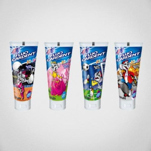 Crema Dental Fluocardent Kids con Flúor- 500ppm-75cc