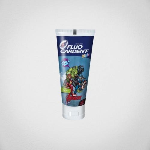 Crema Fluocardent Niño Avengers Sin Flúor 75 cc