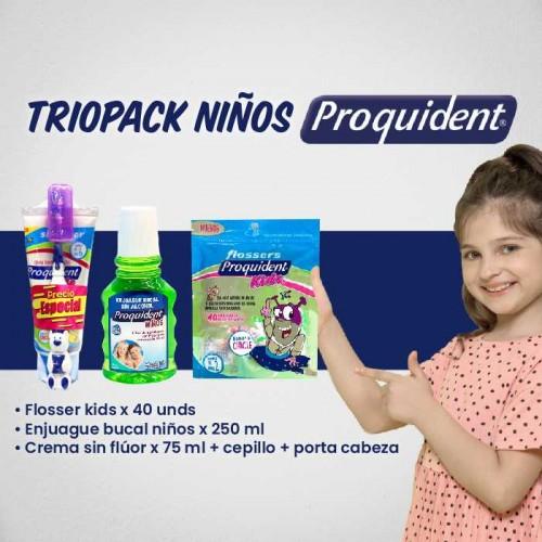 Triopack niños Proquident