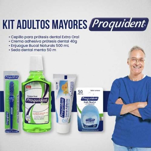 Kit adultos mayores proquident