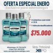 Oferta Listerine Cool Mint 1.5 Litros . ☝🏻 Recuerda que puedes hacer las compras a través de nuestra web, envíos a todo Colombia 💁🇦🇲 conoce todos los productos disponibles que tenemos para ti 📣 📣 llámanos📞 o escríbenos al WhatsApp📱. . INFORMACIÓN DE CONTACTO: . 🖥Pagina web ventas: http://www.ventaprofesionalkbpo.com/ 📱Whatsapp: +57 311 7646475 📱Linea Cali: 4853050-4853030 📧Correo: ventas@ventaprofesionalkbpo.com . #odontologoscolombianos #familia #quedatencasa #cali #colombia #bogota #medellin #saludoral #cremas #cepillos #sedas #enjuagues #bioseguridad #dientes #boca #higieneoral #saluddental #hiegienedental #coronavirus #COVID19