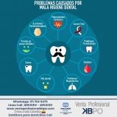 Una mala higiene bucal puede causar muchas enfermedades que afectan su salud, por eso procure cepillarse después de cada comida, su bienestar depende de usted. . INFORMACIÓN DE CONTACTO: . 🖥Pagina web ventas: http://www.ventaprofesionalkbpo.com/ 📱Whatsapp: +57 311 7646475 📧Correo: ventas@ventaprofesionalkbpo.com . #odotologoscolombianos #familia #quedatencasa #cali #colombia #bogota #medellin #saludoral #cremas #cepillos #sedas #enjuagues #bioseguridad #dientes #boca #higieneoral #saluddental #hiegienedental #coronavirus #COVID19