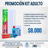Promoción kit adulto Colgate . Link pagina web: https://www.ventaprofesionalkbpo.com/kits-adultos/209-promocion-kit-adulto-colgate.html . INFORMACIÓN DE CONTACTO: . 🖥Pagina web ventas: http://www.ventaprofesionalkbpo.com/ 📱Whatsapp: +57 311 7646475 📧Correo: ventas@ventaprofesionalkbpo.com . #odotologoscolombianos #familia #quedatencasa #cali #colombia #bogota #medellin #saludoral #cremas #cepillos #sedas #enjuagues #bioseguridad #dientes #boca #higieneoral #saluddental #hiegienedental #coronavirus #COVID19