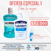 Oferta 1 Para la mujer - Listerine y Lubriderm . Link pagina web: https://www.ventaprofesionalkbpo.com/enjuagues/196-oferta-1-listerine-y-lubriderm-para-la-mujer.html . INFORMACIÓN DE CONTACTO: . 🖥Pagina web ventas: http://www.ventaprofesionalkbpo.com/ 📱Whatsapp: +57 311 7646475 📧Correo: ventas@ventaprofesionalkbpo.com . #odotologoscolombianos #familia #quedatencasa #cali #colombia #bogota #medellin #saludoral #cremas #cepillos #sedas #enjuagues #bioseguridad #dientes #boca #higieneoral #saluddental #hiegienedental #coronavirus #COVID19
