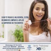 Importancia de usar el hilo dental . Sedas, hilos dentales pagina web: https://www.ventaprofesionalkbpo.com/16-sedas . INFORMACIÓN DE CONTACTO: . 🖥Pagina web ventas: http://www.ventaprofesionalkbpo.com/ 📱Whatsapp: +57 311 7646475 📧Correo: ventas@ventaprofesionalkbpo.com . #sedas #hilodental #odotologoscolombianos #familia #quedatencasa #cali #colombia #bogota #medellin #saludoral #cremas #cepillos #sedas #enjuagues #bioseguridad #dientes #boca #higieneoral #saluddental #hiegienedental #coronavirus #COVID19