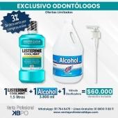 Listerine Cool Mint 1.5lt + Alcohol JGB 3.800ml + Valvula . Link pagina web: https://www.ventaprofesionalkbpo.com/enjuagues/160-listerine-cuidado-total-1lt-valvula.html . ☝🏻 Recuerda que puedes hacer las compras a través de nuestra web, envíos a todo Colombia 💁🇦🇲 conoce todos los productos disponibles que tenemos para ti 📣 📣 llámanos📞 o escríbenos al WhatsApp📱. . INFORMACIÓN DE CONTACTO: . 🖥Pagina web ventas: http://www.ventaprofesionalkbpo.com/ 📱Whatsapp: +57 311 7646475 📧Correo: ventas@ventaprofesionalkbpo.com . #alcohol #Enjuague #EnjuagueBucal #odotologoscolombianos #familia #quedatencasa #cali #colombia #bogota #medellin #saludoral #cremas #cepillos #sedas #enjuagues #bioseguridad #dientes #boca #higieneoral #saluddental #hiegienedental #coronavirus #COVID19