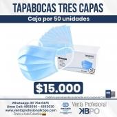 Tapabocas tres capas por 50 unidades a $15.000 . ☝🏻 Recuerda que puedes hacer las compras a través de nuestra web, envíos a todo Colombia 💁🇦🇲 conoce todos los productos disponibles que tenemos para ti 📣 📣 llámanos📞 o escríbenos al WhatsApp📱. . INFORMACIÓN DE CONTACTO: . 🖥Pagina web: http://www.ventaprofesionalkbpo.com/ 📱Whatsapp: +57 311 7646475 📧Correo: ventas@ventaprofesionalkbpo.com . #odontologoscolombianos #quedatencasa #cali #colombia #bogota #medellin #saludoral #cremas #cepillos #sedas #enjuagues #bioseguridad #dientes #boca #higieneoral #saluddental #hiegienedental #coronavirus #COVID19